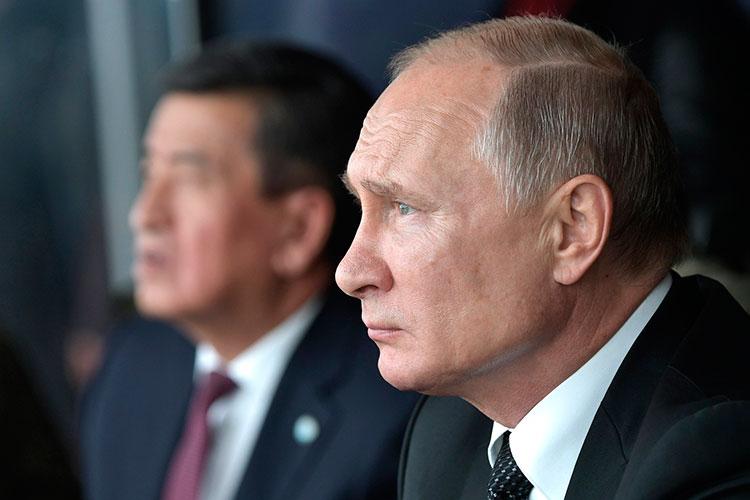 «Мне кажется, то, что сегодня беспокоит, ито, чем занимается наработе Владимир Владимирович Путин,— это вопросы, уже выходящие зарамки российского мира»
