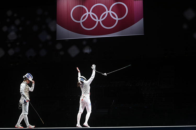 «Когда завоёвываешь медаль, намгновение забываешь обо всех поражениях. Пытаешься насладиться моментом»