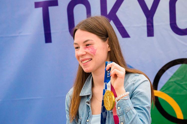 Единственной золотой медалисткой отТатарстана вТокио пока остаётся 22-летняя фехтовальщица Марта Мартьянова