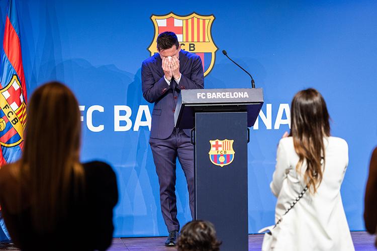 В это не верилось до последнего, но Месси больше не игрок «Барселоны»