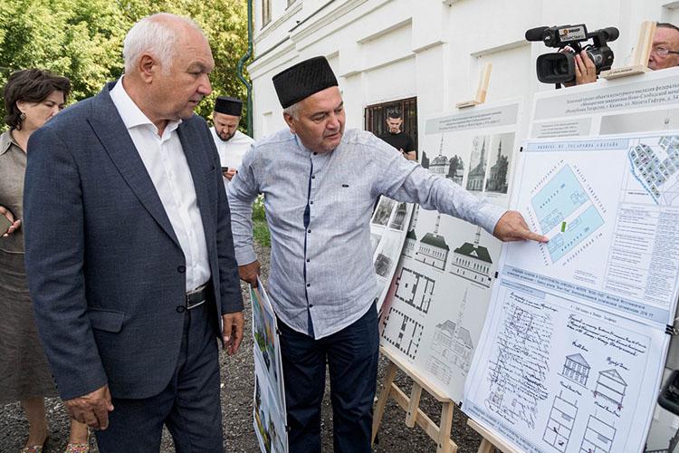 Ильдар Гильмутдинов рассказал о реконструкции знаменитой мечети«Иске Таш», которуюдолжны привести впервозданный вид уже в2023 году