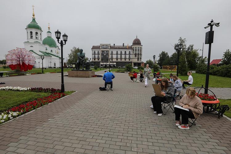 В2020 годуТобольск вошел впервую пятерку рейтинга минстроя РФпоуровню комфорта для проживания вгруппе «Средние города»