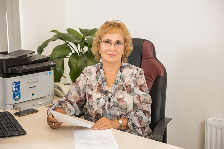 Наиля Хасанова – директор компании «СанДезАрт»