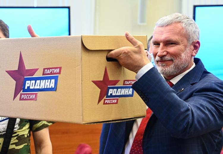 «Горячей точкой» недели стал Санкт-Петербург, где свыборов взаксобрание сняли кандидатов отпартии «Родина»