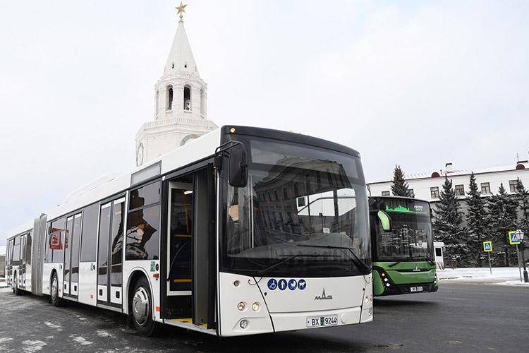 Казань разрабатывает концепцию запуска метробусов сРоссийским дорожным научно-исследовательским институтом. Изучаются 4 линии маршрутов