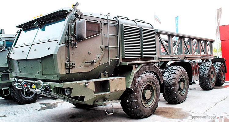 КАМАЗ-73501 может стать прародителем семейства СКШТ