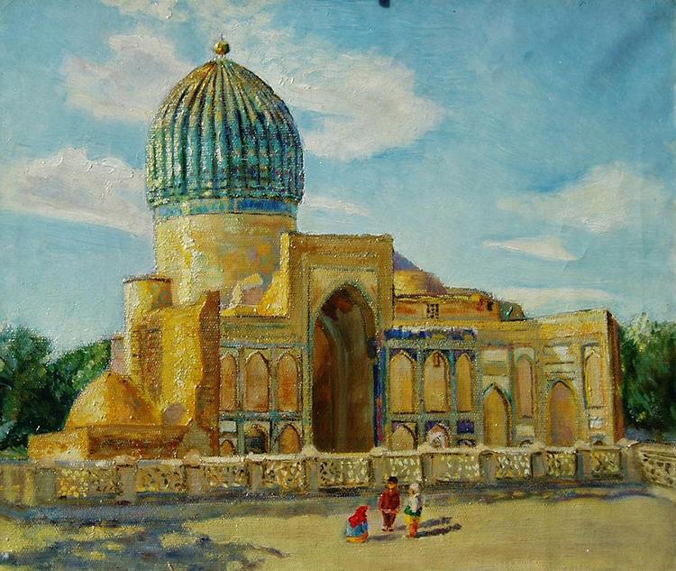 МечетьГур-Эмир. Самарканд