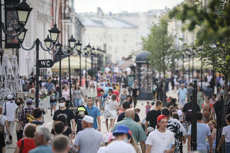 Казань растет каждый год на20-30 тысяч жителей, иэто один израстущих городов-миллионников России
