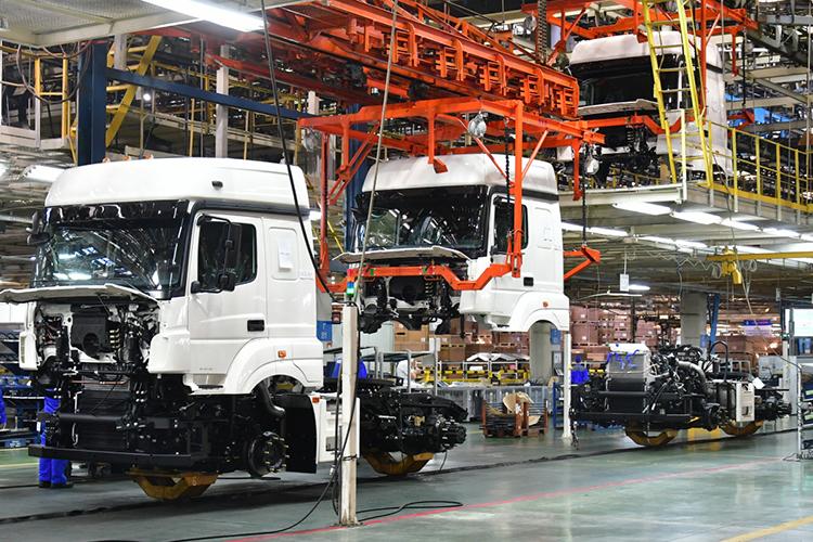 В2018 году напомощь автопрому было направлено избюджета свыше 35млрд рублей.Вкризисный 2020 год автопром получил поддержку вразмере 56,1млрд рублей