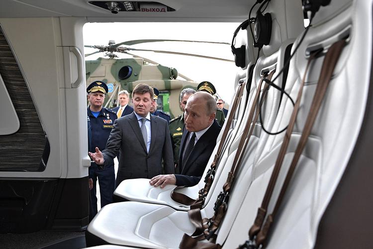 Недавнее заявлениеВладимира Путинаовыделении крупных сумм насанитарную авиацию спровоцирует новый виток борьбы за КВЗ и«Вертолеты России», прогнозирует источник «БИЗНЕС Online» вавиапроме
