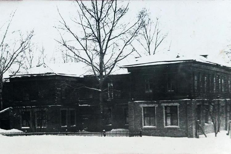 Стараяшкола в Кулле-Киме, где учился СибгатХаким