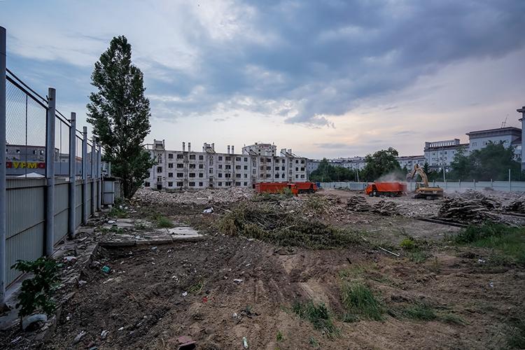ЮИТ получил разрешение для застройки первого этапа восьмиэтажного жилого комплекса «Квартал сюита»наместеснесенныхаварийных домов