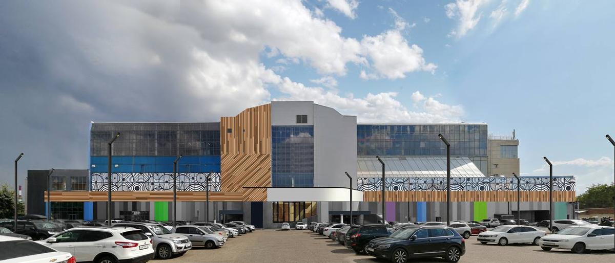 Предварительный эскиз нового здания после капитального ремонта