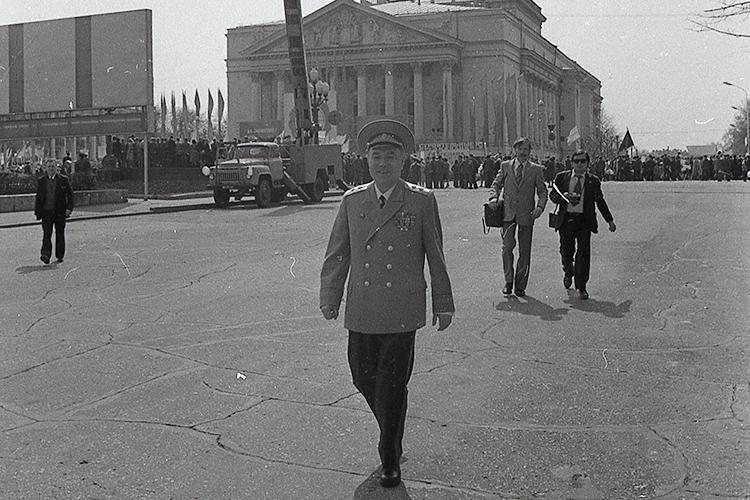 ВТатарстане ведомство возглавлял небезызвестныйСалих Япеев, чьим именем названа улица вправоохранительном сердце Казани