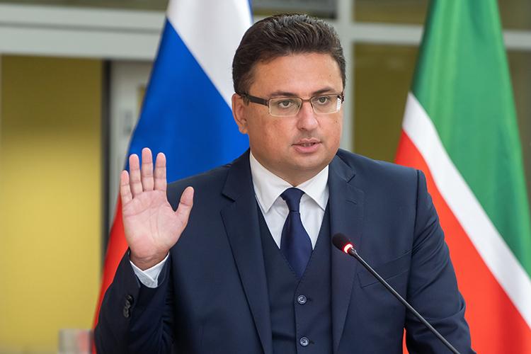 Заместитель председателя Верховного суда РТ Максим Беляев