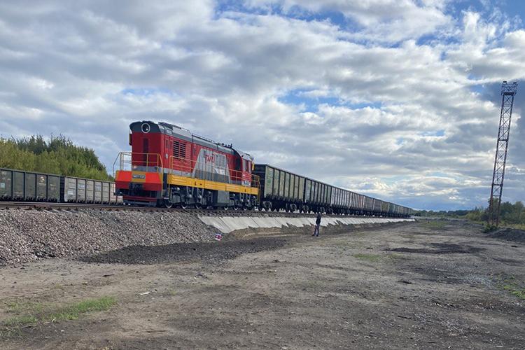 «Наш повышенный выгрузочный путь составляет 14 вагонов по фронту—аэто до60 вагонов всутки наодном пути»