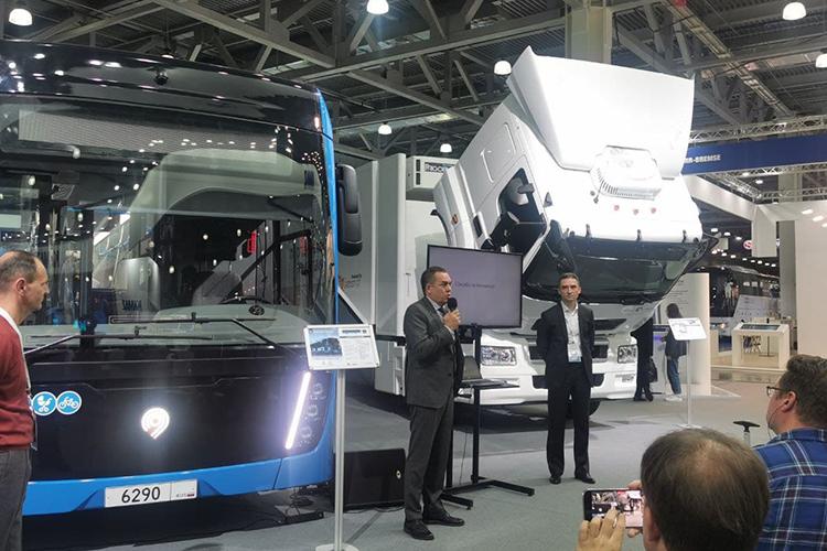 Заместитель гендиректора ПАО «КАМАЗ»Ирек Гумероврассказал, что узавода«системный взгляд»: планируется создать целую линейку машин наводороде