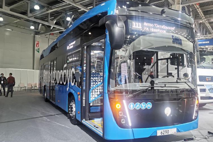 КАМАЗ начал разрабатывать автобус наводороде еще два года назад, нонераскрывал планы