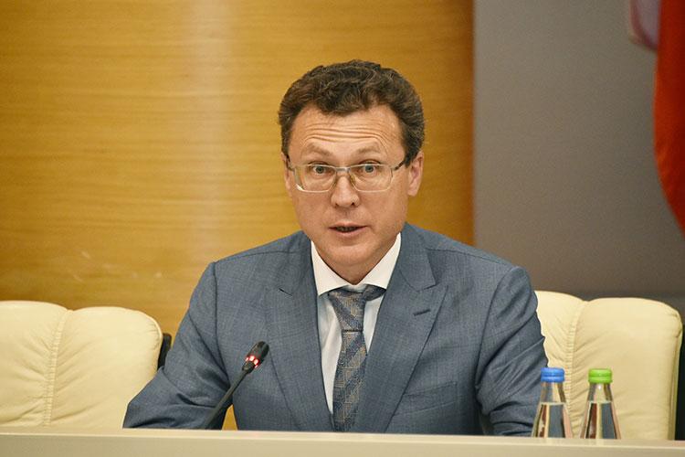 Рустем Сибгатуллин: «ВТатарстанеже рост продаж товаров через интернет, поданным Росстата, в2020 году всопоставимых ценах составил 93%, впервую половину текущего года— почти 40%»