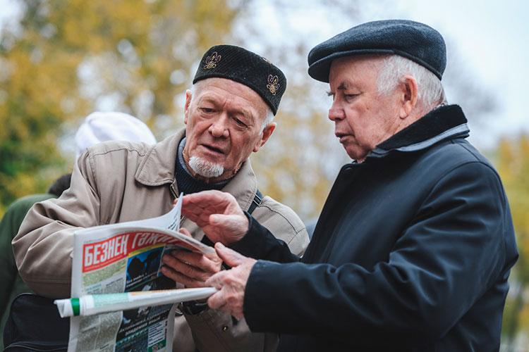 Фандас Сафиуллин (справа): «Очень жаль, что не удалось в свое время, когда была возможность, придать республиканский государственный статус Дню памяти защитников Казани, погибших при падении Казанского ханства»