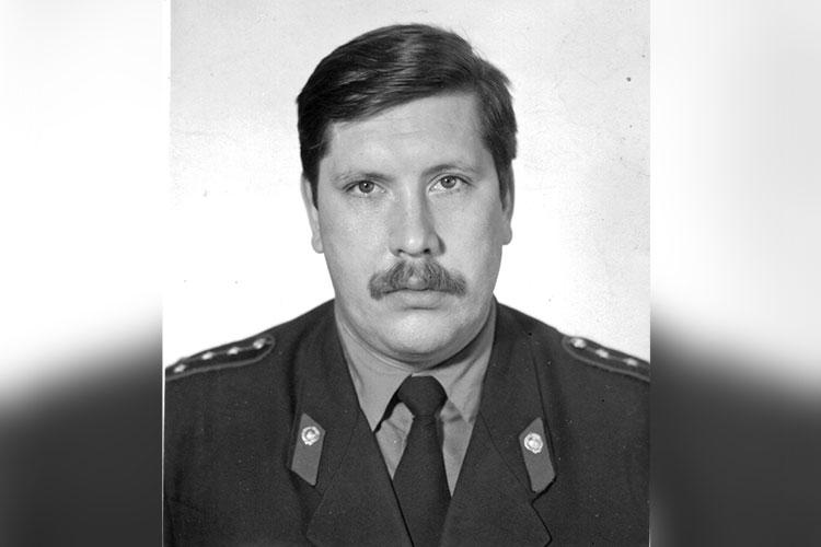 Начальник уголовного розыска УВД г. Казани Евгений Кулешов (1987 г.)