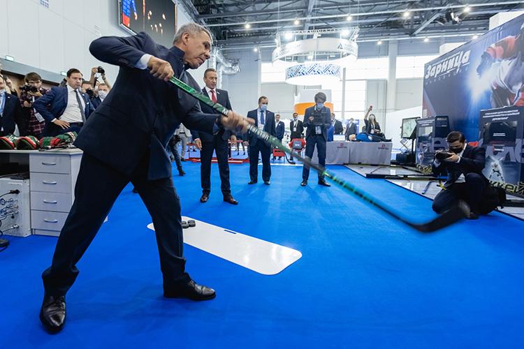 Наднях МВЦ «Казань Экспо» стал точкой притяжения для спортивной иполитической элиты страны имира