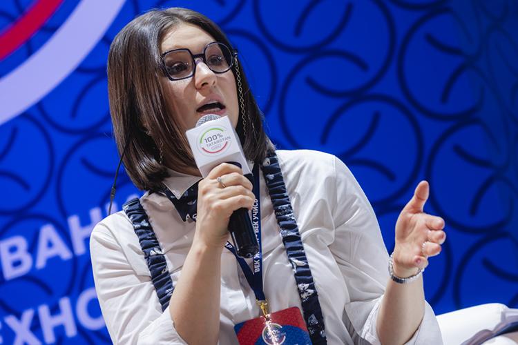 ТалияМинуллинаподчеркнула статус мероприятия, пояснив, что доКазани конференцию принимали такие страны, как Канада, Голландия, Южная Корея, Франция, США