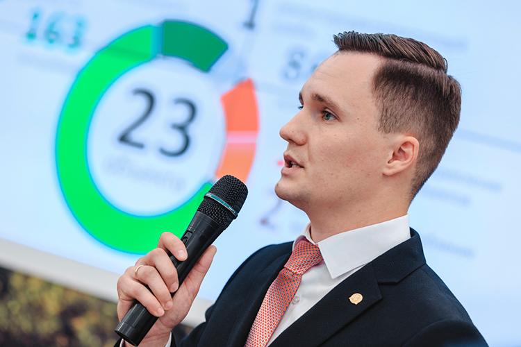 Егор Тарнавскийотметил, что «Оздоровление Волги»— один изнаиболее капиталоемких федеральных нацпроектов понаправлению «Экология». Общаястоимость всех мероприятий вТатарстане до2024 года— 17,4млрдрублей, изних 12,5млрд— избюджетаРФ