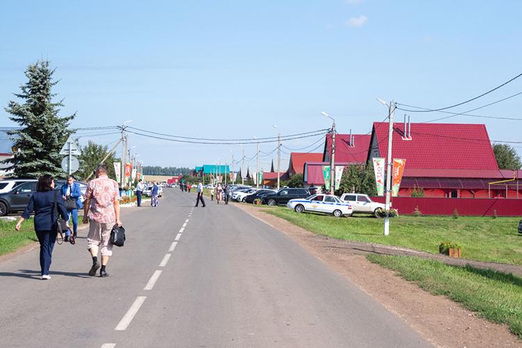Целевые признаки верхнего уровня следующие: это богатая деревня; она присутствует втрех срезах жизни— социальном, экономическом, научном; присутствует навсех уровнях активности— районном, областном, российском имировом