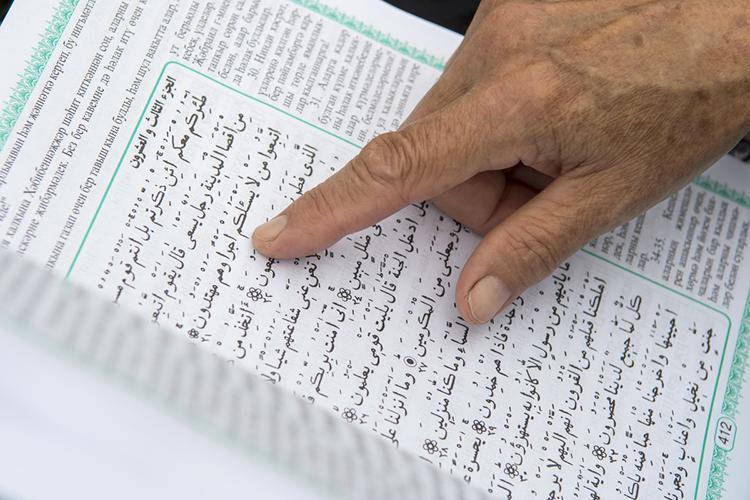 «Главная проблема изменения сознания мусульман влучшую сторону сегодня—это проблема понимания путей исредств, как это сделать. Например, издаются книги—ксожалению, они остаются вузком кругу заинтересованных специалистов. Влияния намассы они неокажут»