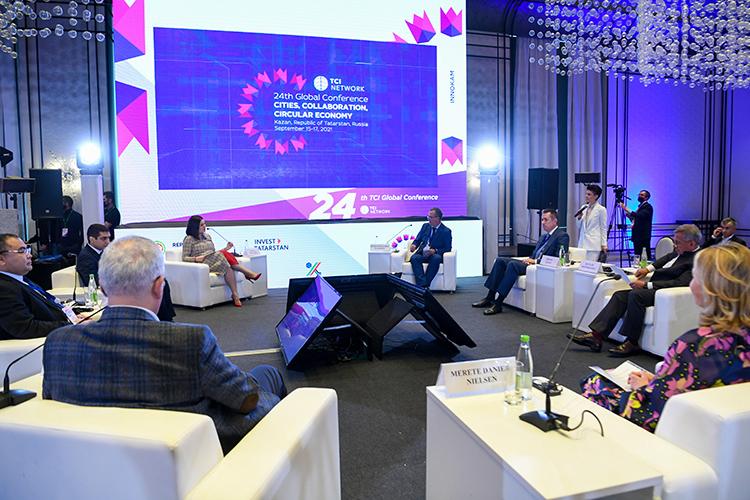 Сегодня вКазани прошла пленарная сессия глобальной конференцииTCI.Для властей республики это мероприятие стало возможностью пропиарить регион истолицу как площадку для проведения международных деловых событий