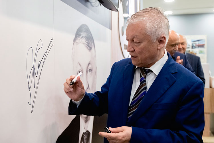 Анатолий Карпов: «Культура шахмат вКазани давно присутствует, азапоследние годы Татарстан вшахматах стал очень активен»