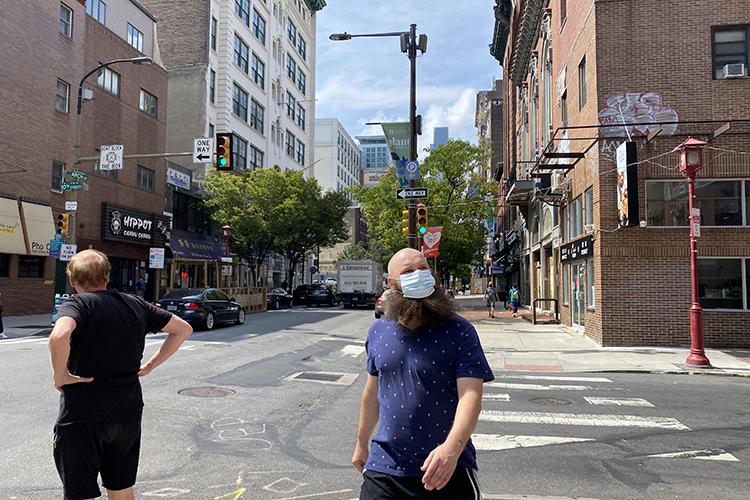 Вэтот приезд удалось еще съездить ивФиладельфию. Это один изстарейших городов США, шестой понаселению город страны исамый населенный город штата Пенсильвания, снаселением в1,5млн человек