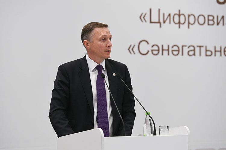 Альберт Каримов: «В Татарстане индекс готовности [предприятий РТ к цифровой трансформации] составил 2,7 из 5 (средний по России — 2,6). «Реально мы ещё на троечку [работаем], не дотягиваем»