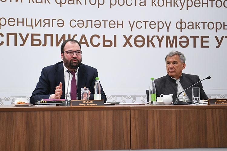 Максут Шадаев высказал идею, что центр должен быть на базе университета Иннополис