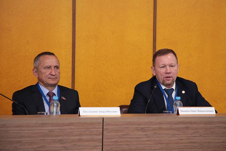 Эдвард Абдуллазянов:«Уверен, что интересные дискуссии наплощадке международной конференции будут способствовать укреплению интеграционных связей, повышению безопасности иэкономической эффективности энергетики, увеличению еемеждународного престижа как отрасли, обладающей высоким научно-техническим потенциалом»