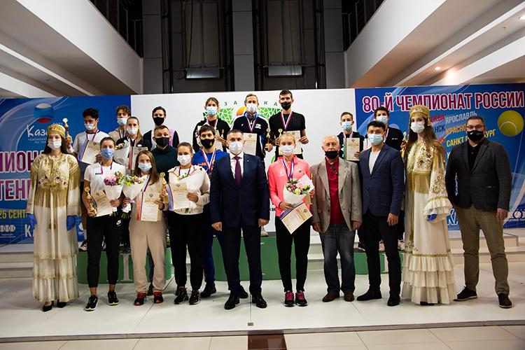 Наминувшей неделе Казань стала главным теннисным городом вРоссии, собрав усебя участников чемпионата страны