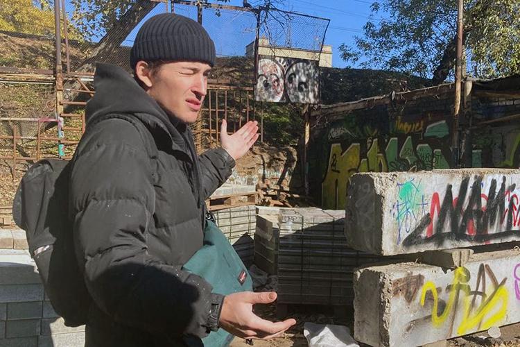 Пока мышли доочередного интересного куска, Никита рассказывал какие-то истории изсвоей жизни