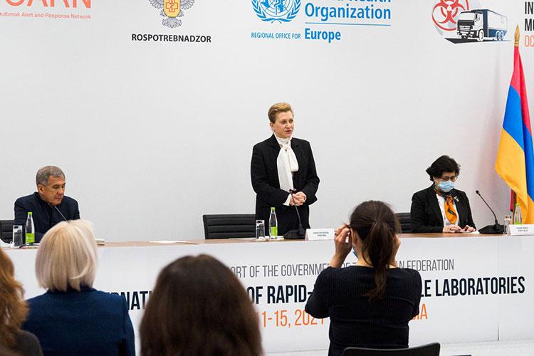 Анна Попова: «Мы видим увеличение числа случаев чумы в мире. Это тоже риски сегодняшнего дня, и таких рисков достаточное количество, поэтому экстренное реагирование становится все более и более важным»