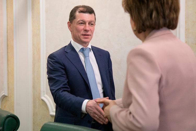 Максим Топилинв озглавит комитет поэкономической политике