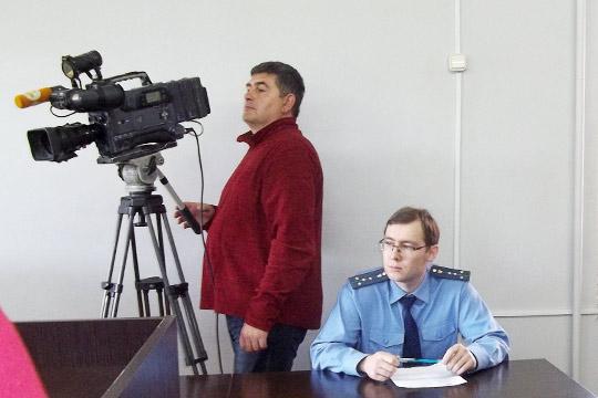 Гособвнинение на процессе представлял помощник прокурораАмир Абдулвагапов