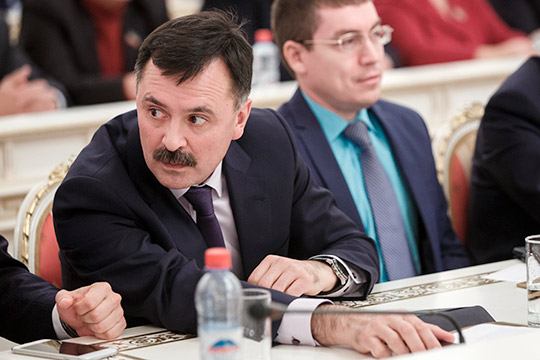 Рустем Гафаров, 8 лет проработавший главой Советского района после Алексея Песошина, станет первым замом Дениса Калинкина