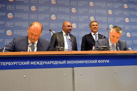 Подписание соглашения о финансировании проекта строительства комплекса по производству азотных удобрений в Менделеевске