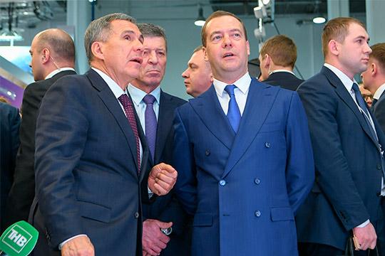 Минниханов– Медведеву: «Необходимо оставить старую схему финансирования для застройщиков»