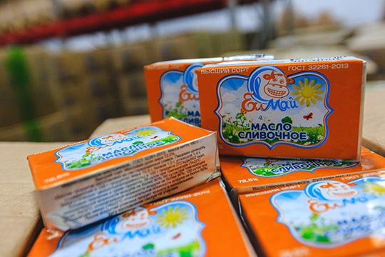 «Высокогорский молочный комбинат» в апреле 2018-го запустил производство нового бренда сливочного масла «Елмай»
