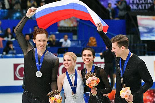 Тарасова иМорозов выиграли «серебро» начемпионате мира. Посиламли имобойти китайцев?