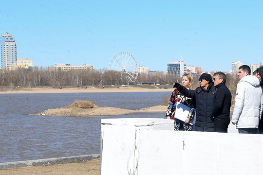 Унабережной Казанки близ ГИМС планируется создание фестивального квартала. Сейчас тут— разброд инеустроенность, создание же инфраструктуры позволит включить данное пространство вобщественную жизнь города