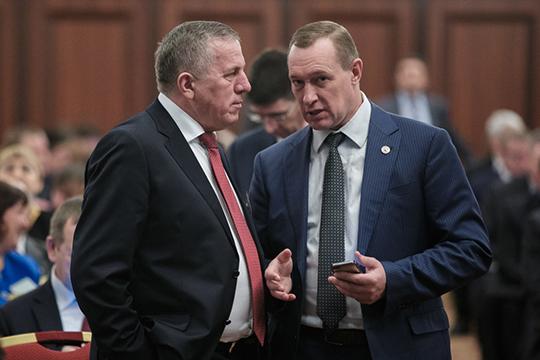 Рамис Сафиуллов(слева) уже несколько лет возглавляет рейтинг самых обеспеченных глав районов Татарстана