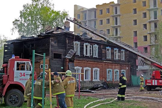 Горящие «Полукамушки»: висторическом центре Зелендольска– три пожара занеделю