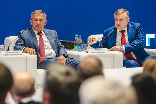 Как обычно, втаком важном мероприятии лично принимал участие президент РТРустам Минниханов